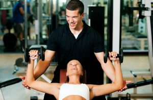 Training as a fitness instructor